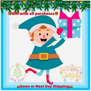 ⛄️GIFT WITH PURCHASE & SAME OR NEXT DAY SHIPPING!